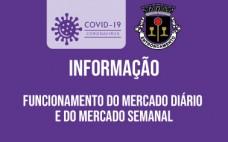 Mercado Diário e Semanal | 26.12.2020 e 02.01.2021