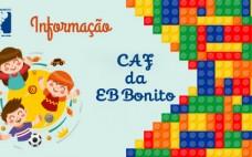 CAF da EB Bonito reabertura a 29 de junho