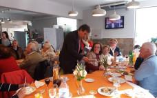 Utentes do Centro de Convívio da Terceira Idade do Entroncamento participaram em almoço de Natal