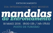 """Mandalas"" alusivos ao Entroncamento no Posto de Turismo"