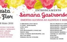 1ª Semana Gastronómica na Festa da Flor