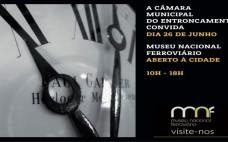 Museu Nacional Ferroviário aberto à Cidade dia 26 de junho