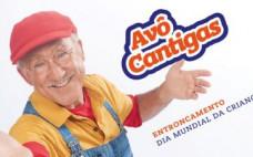 """""""Avô Cantigas - O Super Avô no Dia Mundial da Criança"""