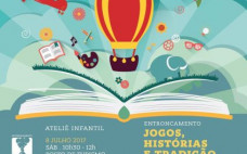 Jogos, Histórias e Tradição no Posto de Turismo
