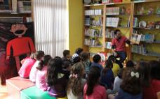 Atividades de Animação Infantil na Biblioteca Municipal