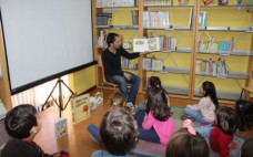 Atividades Infantis na Biblioteca Municipal