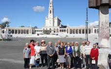Idosos Centro de Convívio visitaram o Santuário de Fátima