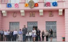 Inauguração da Festa da Flor Colorida e Animada
