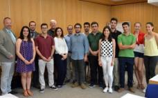 Alunos Universitários do Entroncamento em visita/estágio a Friedberg
