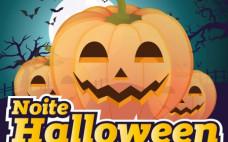 Noite de Halloween e Concurso de Mascarados