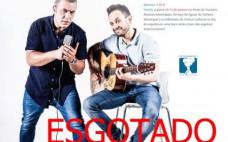 Bilhetes Esgotados para assitir à stand up comedy Quim Roscas e Zeca Estacionâncio