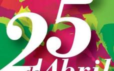 Programa comemorativo do 43º aniversário do 25 de abril