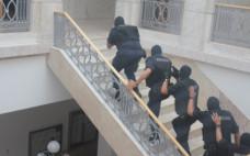 Exercício da Proteção Civil no Edifício dos Paços do Concelho