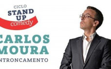 Ciclo de Stand Up Comedy com Carlos Moura