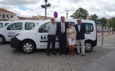 Autarcas entregam viaturas elétricas e assinam protocolo para a promoção da Mobilidade Elétrica na região do Médio Tejo