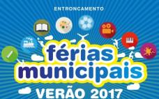 Inscrições abertas para as Férias Municipais de Verão 2017