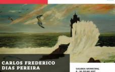 """""""Percursos"""" Exposição de pintura a óleo de Carlos Frederico"""