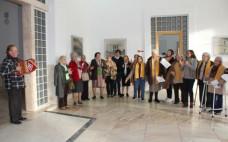 Idosos cantaram as Janeiras na Câmara Municipal