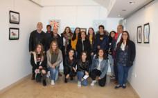 Inauguração da Exposição Coletiva dos alunos do 10º ano do Curso de Artes Visuais