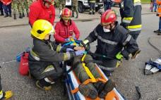 Exercício da Proteção Civil em cenário de acidente rodoviário | 10 março