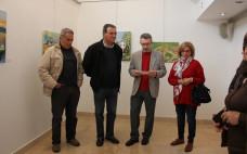 Inauguração da  Exposição coletiva dos alunos de artes da Universidade Sénior do Entroncamento
