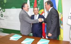 25 maio | Assinatura do acordo de colaboração entre IP - Infraestruturas de Portugal e os Municípios do Entroncamento e Torres Novas