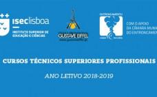 CTeSP - Cursos Técnicos Superiores Profissionais | Ano letivo 2018/2019 | Entroncamento