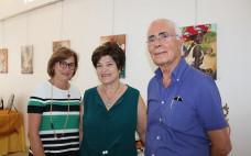 Inauguração da exposição de Ana Paula Caetano na Galeria Municipal do Entroncamento