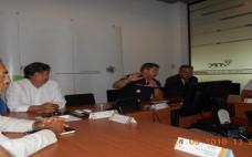 Elementos do Conselho Municipal de Segurança do Concelho do Entroncamento recebidos no Comando Distrital das Operações de Socorro de Santarém