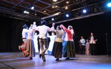 Encontro de Folclore no Centro Cultural