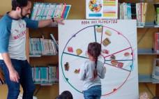 Crianças do ensino Pré-escolar celebram Dia Mundial da Alimentação na Biblioteca Municipal