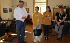 Alunos do Programa Erasmus+ recebidos nos Paços do Concelho