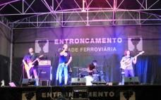 Banda The Gorgeous Georges subiu ao palco da Praça Salgueiro Maia