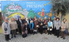 Utentes do Centro de Convívio visitam Penela Presépio