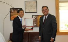 Entroncamento recebe Embaixador do Japão