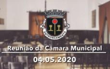 Reunião de Câmara de 04.05.2020