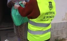 Entrega de cabazes de alimentos a famílias do concelho