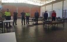 Município prepara resposta de alojamento e logistica