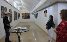 """Inauguração da Exposição """"Saramago, a obra e o homem"""" do artista plástico Carlos Saramago"""