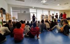 """Entrega de livros do """"Projeto Já Sei Ler"""" nas escolas do concelho"""