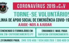 Voluntariado | Apoio Social de Emergência COVID-19