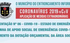 Orientação nº 6 | Linha de Apoio Social de Emergência Covid 19 - Aumento da Dotação Orçamental da Área Social