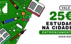 Câmara Municipal atribui vales de 25€ a todos os alunos do 2º ao 3º Ciclos e 10º e 11º anos de Escolaridade do ensino público
