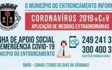 Entroncamento tem Linha de Apoio Social de Emergência COVID-19