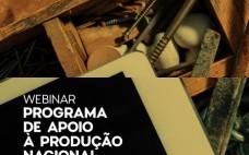 Programa de Apoio à Produção Nacional divulgado em webinar promovido pela CIMT