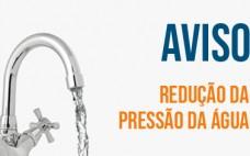 9 a 15 dezembro | Freguesia N. S. Fátima | Redução da pressão da água