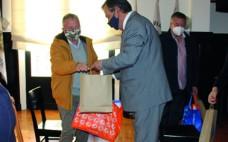 Município do Entroncamento marca esta quadra festiva com a entrega de cabazes de Natal