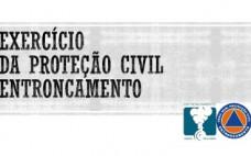 Exercício da Proteção Civil em cenário de acidente rodoviário