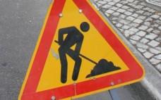 Aviso: Circule com precaução na Estrada Nacional 3 . Rua Foros da Lameira