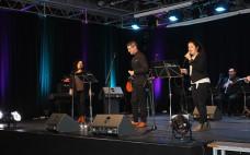 Centro Cultural encheu para o espetáculo musical do Grupo D'Alma Canto